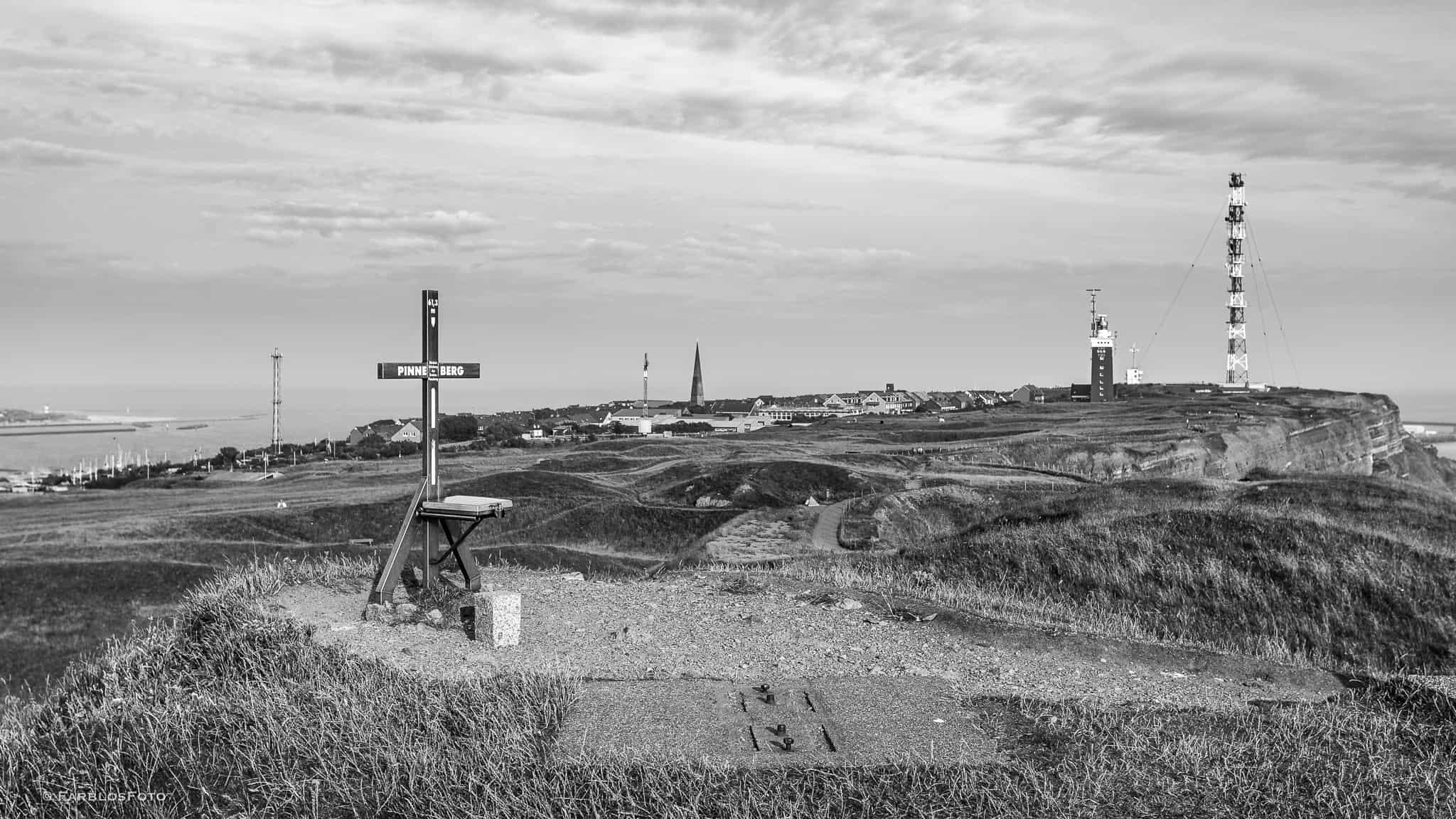 Der Pinneberg auf Helgoland