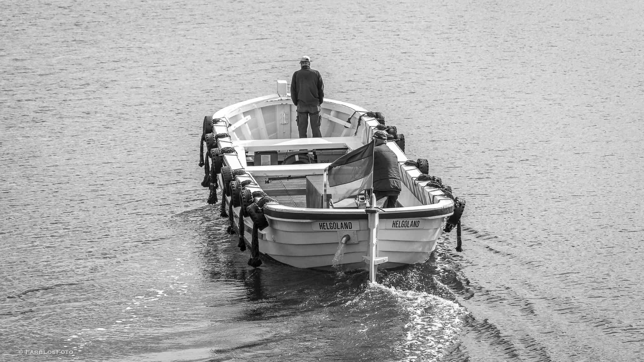 Börteboote eine Tradition auf Helgoland