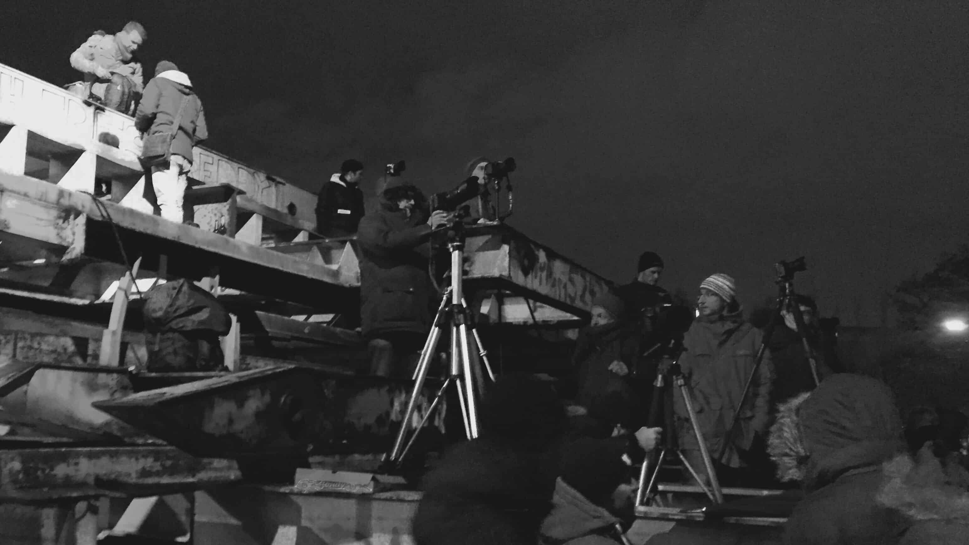 Fotografen am Eröffnungstag der Elbphilharmonie