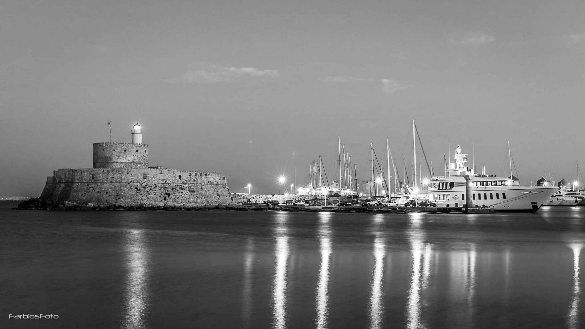 Rhodos - Mandraki Hafen