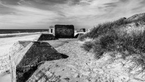 Die Bunker vom Atlantikwall bei Houvig - Dänemark