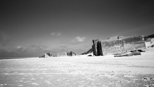 Die Bunker vom Atlantikwall bei Blavand - Dänemark
