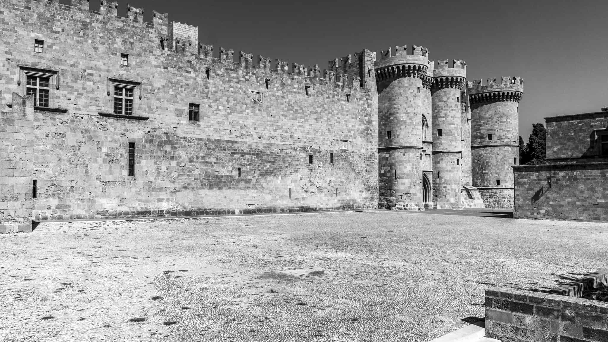 Großmeisterpalast in der Altstadt von Rhodos