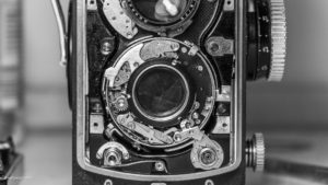 Rolleiflex - sticky shutter - Reparatur