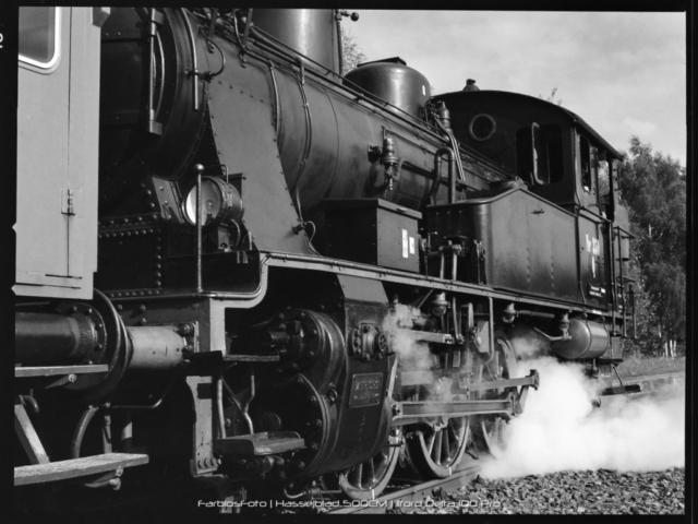 Dampflok DSB Q350 Karoline