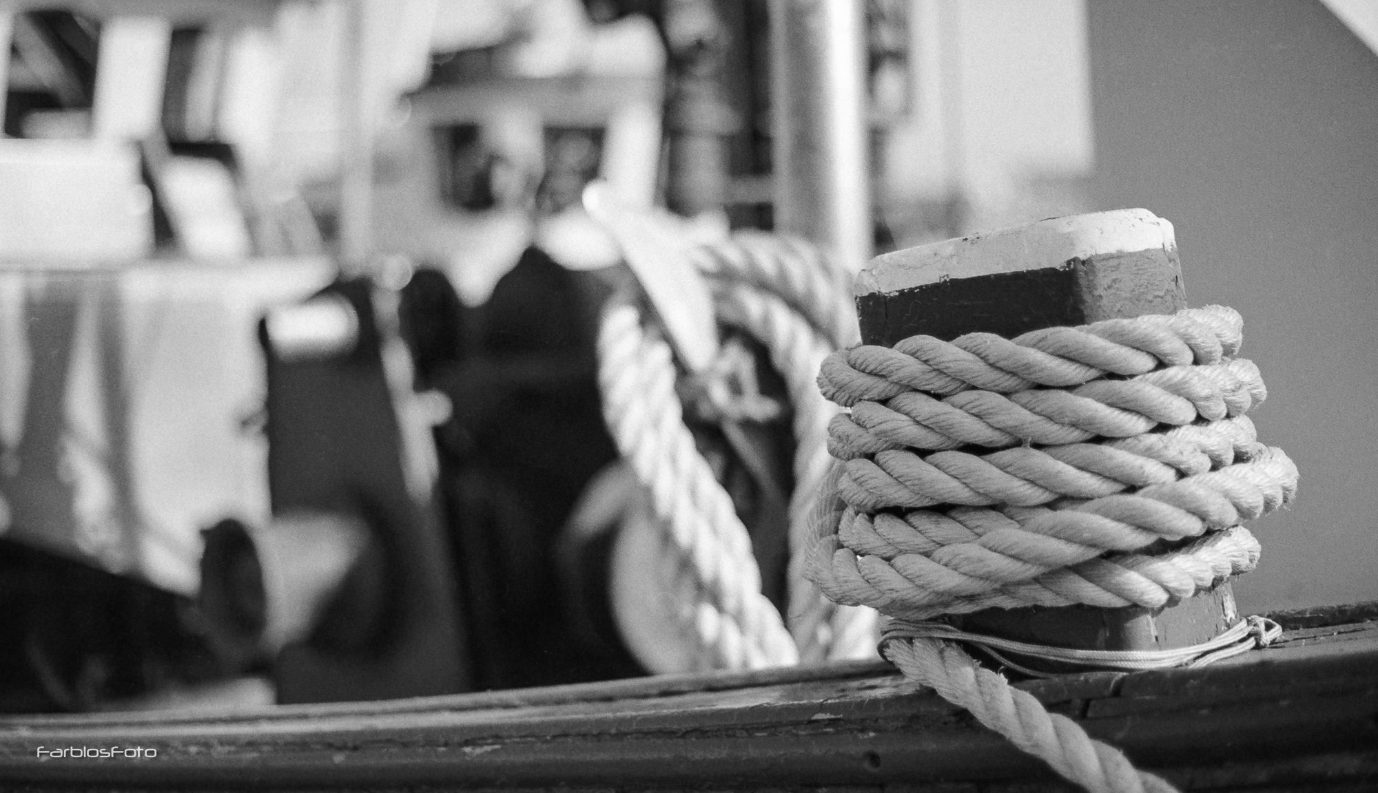 Büsum Hafen, Canon EOS5, Ilford FP4