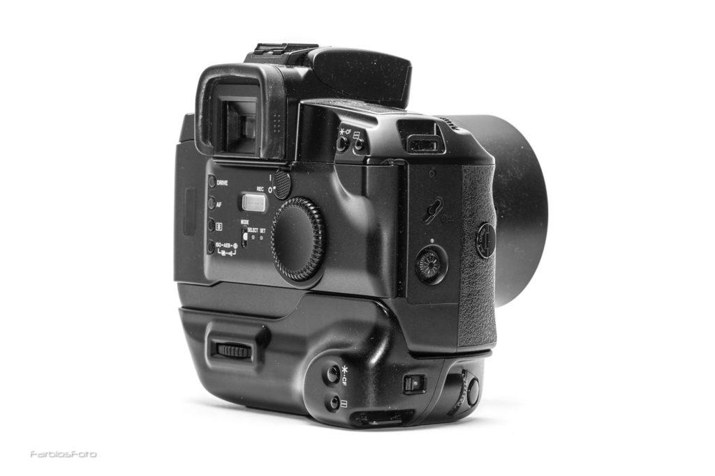 Canon EOS 5 QD mit Vertical Grip VG10