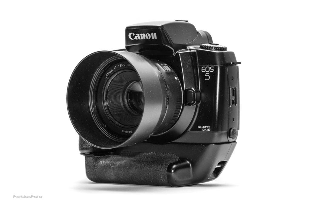 Canon EOS 5 QD mit 50mm f/1.8 STM